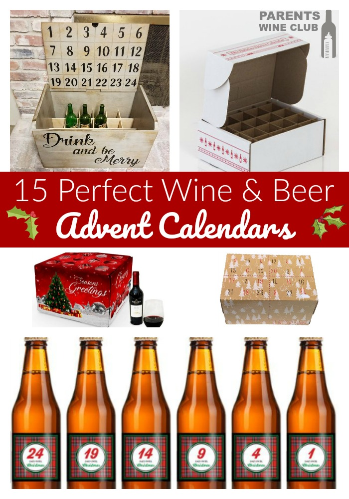 15 Perfect Beer & Wine Advent Calendars for you Christmas Countdown